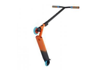 Самокат трюковый KRAFT оранжево-черный